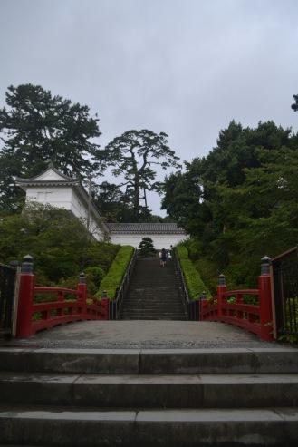 Gerbang rada cantik (?) di depan kastil